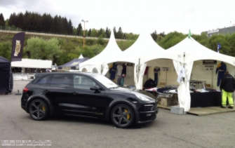 GEMBALLA GmbH bei den Porsche Days Francorchamps in Spa 2014
